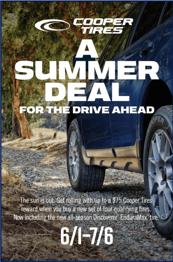Cooper Summer Deal