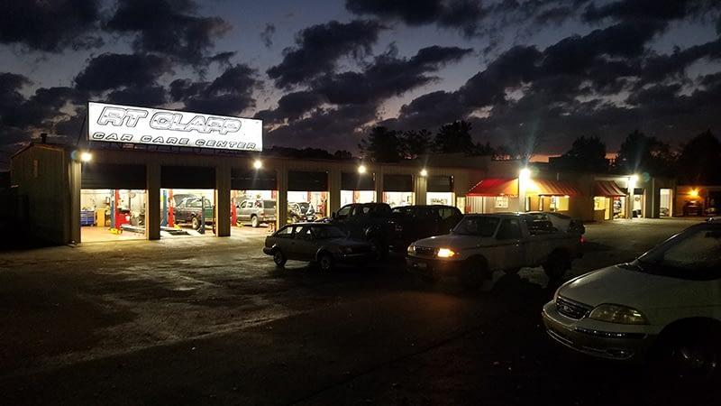 RT Clapp Shop at Night